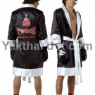 TWINS Fighter Robes - FTR-1 Black White Trim