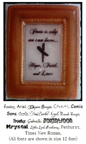 Personalized Picture Frame Soap Favor � Great Gift Idea !!!