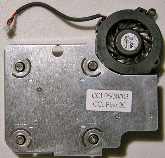 DELL LATITUDE c600 c610 c640 CPU HEATSINK & FAN 5N885
