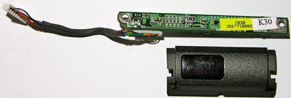 HP 4200 COMPAQ 2100 nx9010 INFRARED BOARD DAKT7AIR4B7 W/ COVER