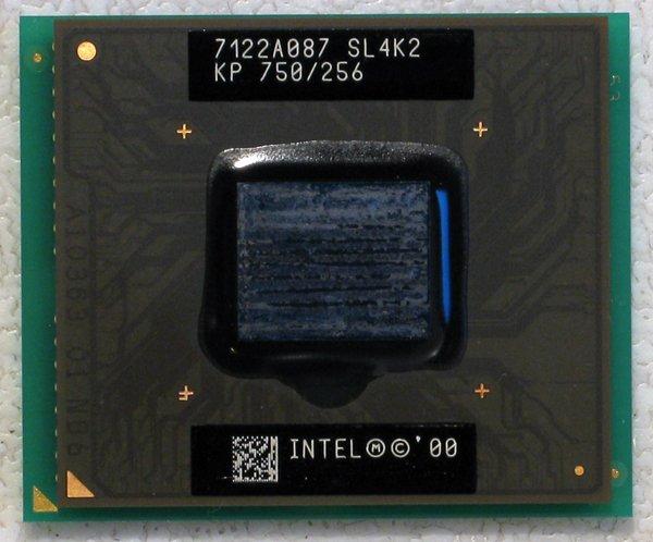 DELL LATITUDE CS INTEL MOBILE PENTIUM 3 III 750MHz CPU 256K/100MHz SL4K2