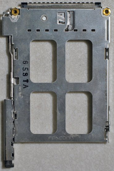 GATEWAY MX6447 6454 6400 PCMCIA SLOT CAGE FOXCONN 65STA