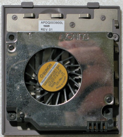 DELL INSPIRON 8500 8600 D800 M60 CPU FAN APDQ003900L