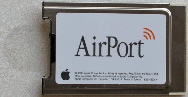 GENUINE APPLE MAC iBOOK POWERBOOK ORIGINAL AIRPORT CARD