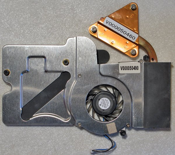 TOSHIBA SATELLITE M40 M45 CPU HEATSINK & FAN V000050490