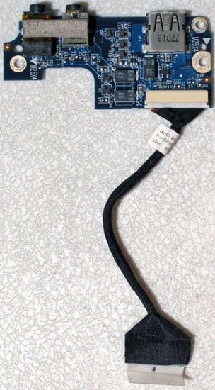 COMPAQ PRESARIO C500 USB AUDIO BOARD w/ CABLE 441727-001
