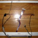 "APPLE iBOOK G3 12"" LCD BEZEL ASSEMBLY w/ HINGE CABLES"