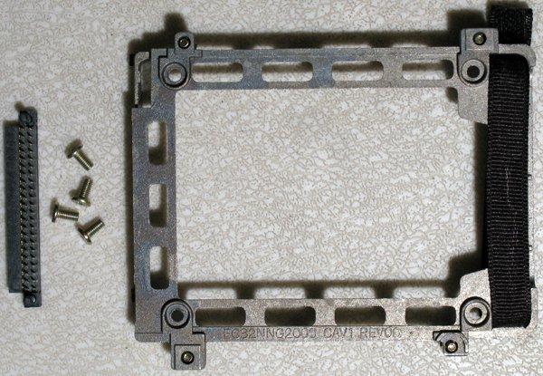 HP PAVILION N5000 N5270 N5300 N54000 HARD DRIVE CADDY W/ SCREWS & IDE CONNECTOR
