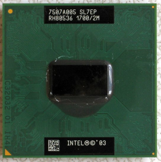 SONY VAIO VGN-S150 S170 S260 S360P INTEL PENTIUM M 1.7GHz 2M CPU SL7EP DOTHAN
