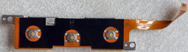 FUJITSU LIFEBOOK P SERIES P2040 P2110 P2120 MOUSE BUTTON w/ CABLE CP111403