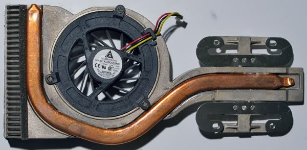 SONY VAIO VGN-N160G N130G CPU HEATSINK & FAN 073-0011-2494
