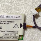 DELL INSPIRON 8500 8500 9100 9200 5160 MODEM CARD w/ CABLE 9X163