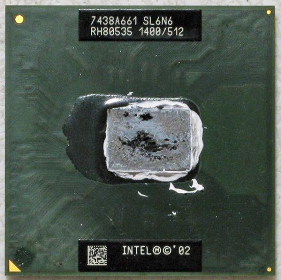 HP PAVILION ZE4200 COMPAQ PRESARIO 2200 INTEL CELERON M 1.4GHz CPU SL6N6