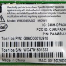 TOSHIBA SATELLITE A135-S4427 A / G WIRELESS WIFI PCI CARD K000044760