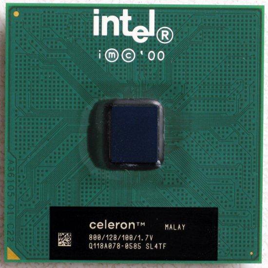 TOSHIBA SATELLITE 1800 1805 INTEL CELERON 800MHz CPU SL4TF