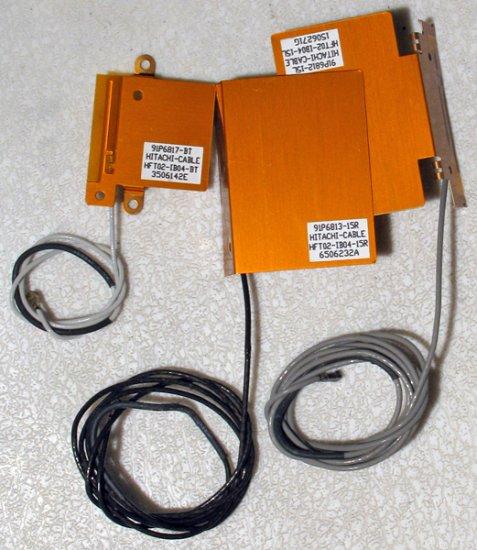 IBM THINKPAD R50 R51 WiFi WIRLESS & BLUETOOTH ANTENNA CABLES 91P6813