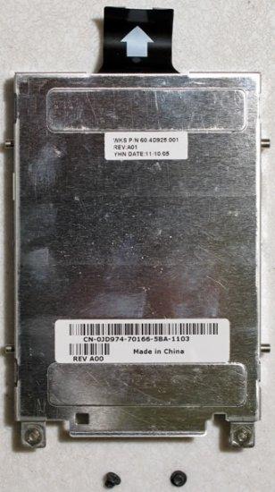 DELL INSPIRON B120 B130 1300 HARD DRIVE HD CADDY JD974