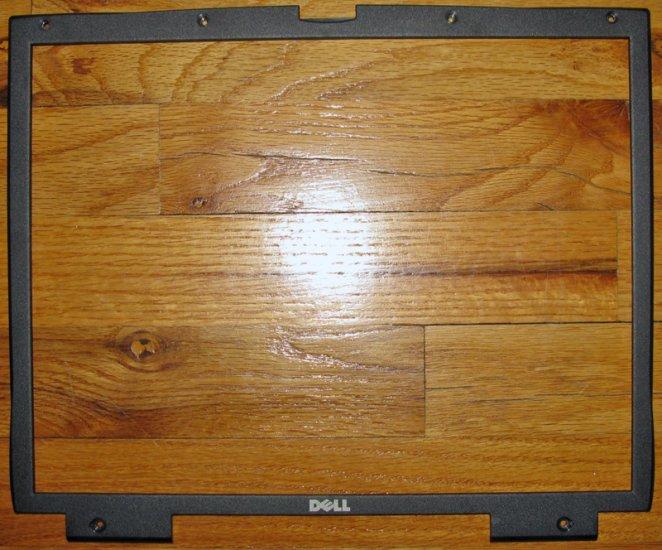 "DELL LATITUDE C800 C810 C840 15"" LCD SCREEN BEZEL 4C895"