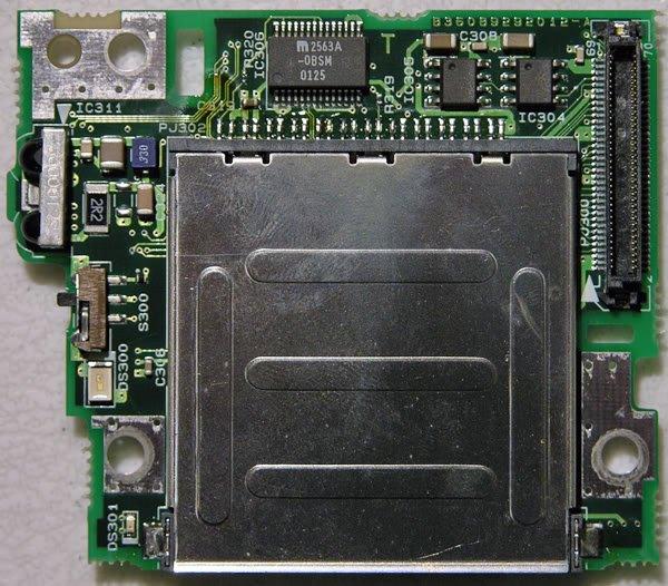 TOSHIBA 5005 SMART MEDIA SD CARD READER BOARD FMZSD2