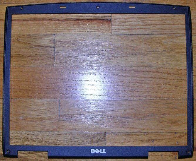 """DELL INPSPIRON 2600 2650 15"""" LCD SCREEN FRONT BEZEL"""