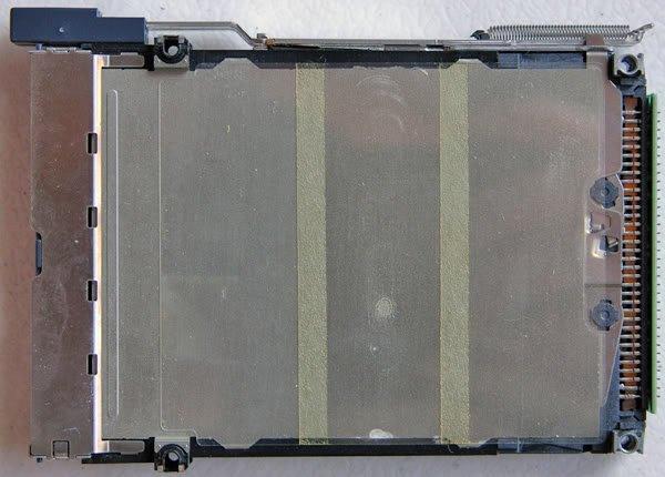 TOSHIBA SATELLITE 5005 5105 5000 PCMCIA SLOT CAGE