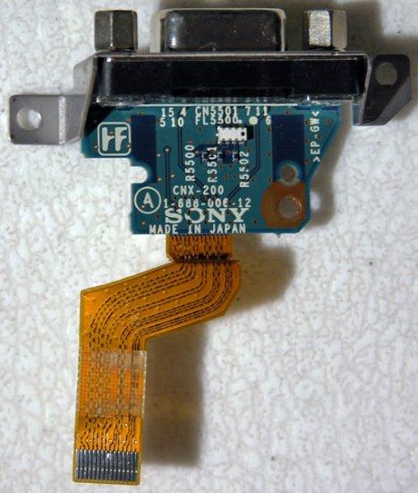 SONY PCG Z1RAP Z1VAP Z1WAP VIDEO OUT VGA BOARD CNX-200