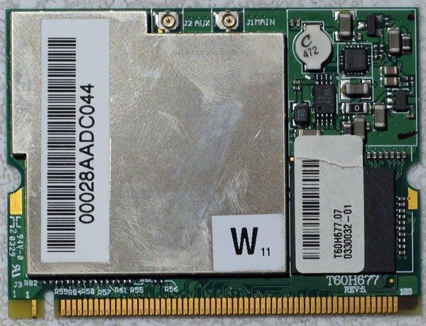 SONY GRT170 GRT250 GRT260G PCI WIRELESS CARD T60H677