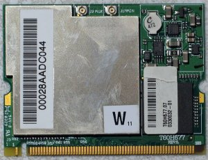 SONY GRT170 GRT250 GRT260G PCI WIRELESS CARD T60H677