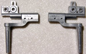 "DELL INSPIRON 9100 15.4"" LCD SCREEN HINGES SET L & R"