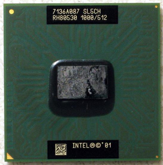 COMPAQ PRESARIO 2700 INTEL PENTIUM 3 M 1.0GHz LAPTOP CPU SL5CH