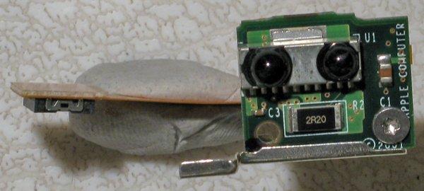 "APPLE POWERBOOK G4 15"" 667HMz INFRARED BOARD 820-1285-A"