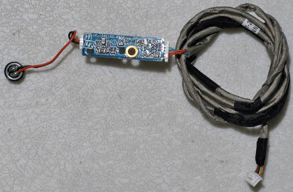 SONY VGN-FZ240E FZ190E MIC BOARD CABLE 073-0001-2849_A