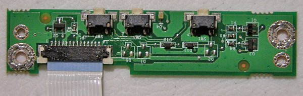 HP PAVILION ZV5000 MULTIMEDIA SWITCH BOARD LS-1811 W/