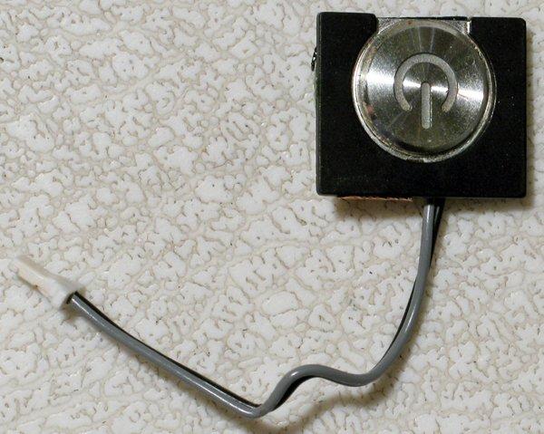 """APPLE POWERBOOK G4 400 ~ 1GHz 15"""" TITANIUM POWER SWITCH"""