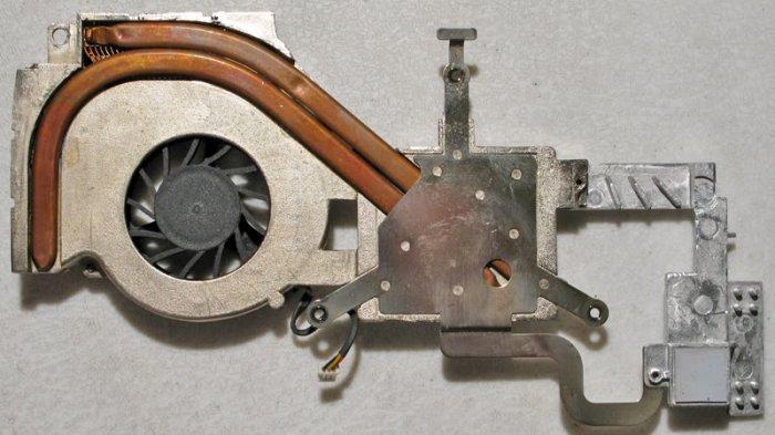 HP ze4400 ze4200 COMPAQ 2100 CPU HEATSINK & FAN CF0550