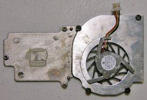 DELL LATITUDE  X200 CPU HEATSINK & COOLING FAN ASSEMBLY