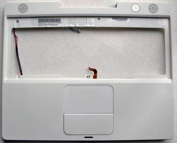 "APPLE MAC iBOOK G3 12"" 800MHz PALMREST TOUCHPAD SPEAKER"