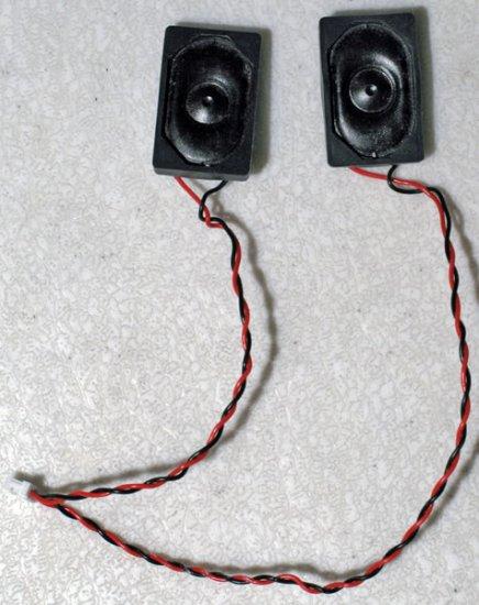 FUJITSU LIFEBOOK E8020 E8010D SPEAKER SET LEFT & RIGHT