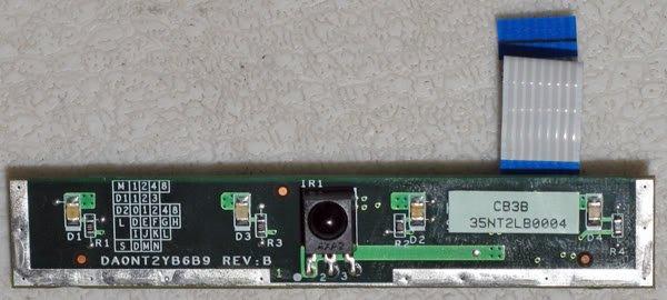 HP PAVILION ZD8000 IR INFARED BOARD W CABLE DA0NT2YB6B9