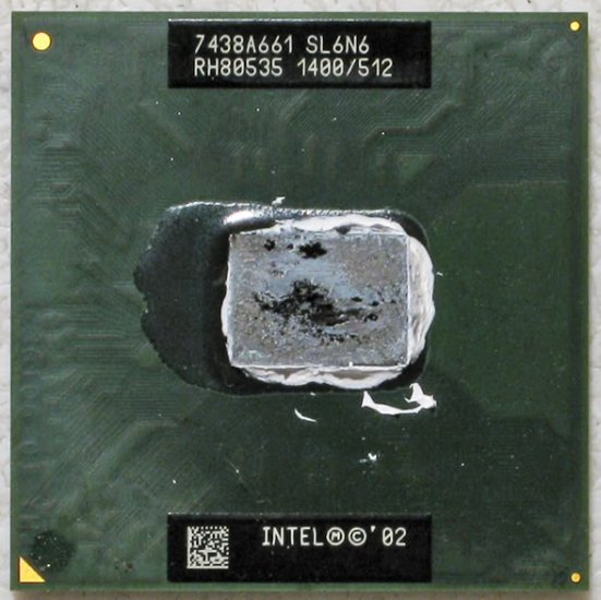 HP ZE4200 COMPAQ 2200 INTEL CELERON M 1.4GHz CPU SL6N6