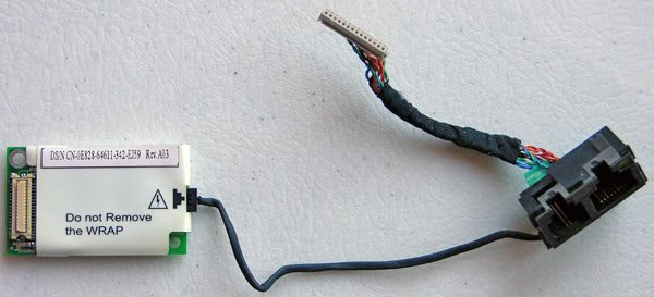 DELL LATITUDE C840 C810 C800 PCI MODEM W/ CABLE & JACKS