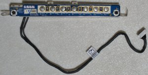 DELL E1705 9400 MULTI MEDIA LED BOARD W/ CABLE LS-2884P
