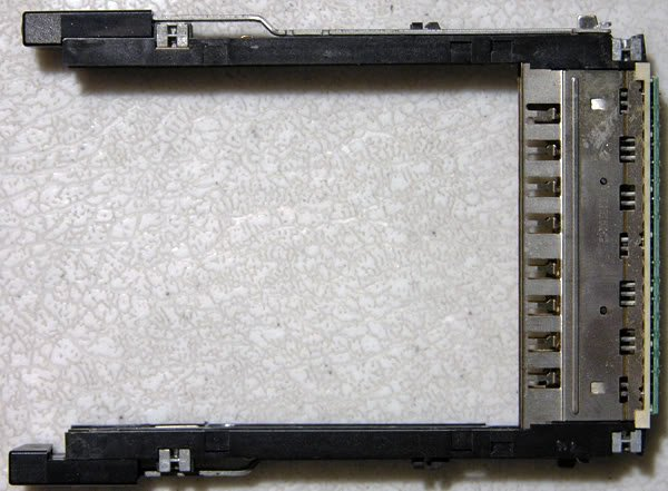 GENUINE DELL LATITUDE c840 c820 c800 PCMCIA SLOT CAGE
