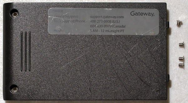 GATEWAY MX6030 6000 HARD DRIVE CADDY COVER 3JMA1HCTAD0
