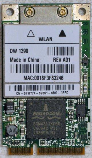 DELL INSPIRON 1501 E1505 PCI WiFi CARD DW 1390 YH774