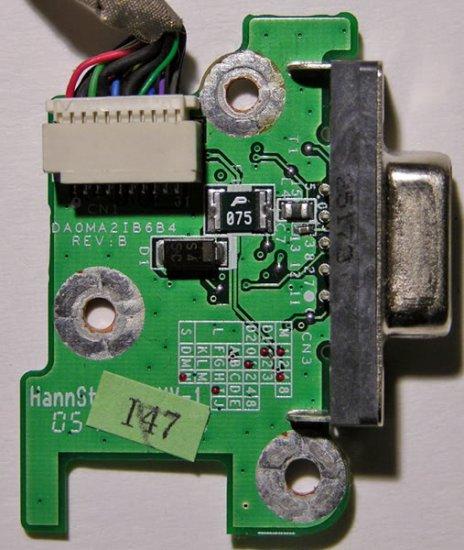 GATEWAY MA2 6020GZ VIDEO OUT BOARD & CABLE 32MA2CB0002