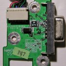 GATEWAY MA2 6020GZ VIDEO OUT BOARD & CABLE 32MA2CB0002