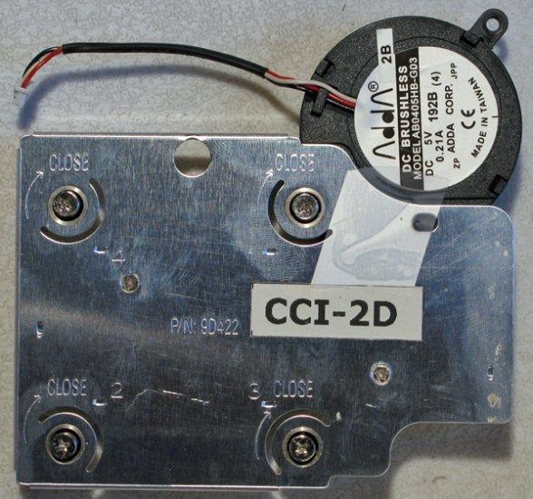 DELL 4000 4150 c600 c610 c640 CPU HEATSINK & FAN 9D422