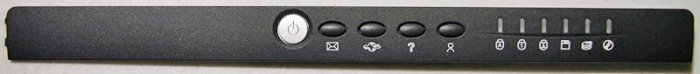 GATEWAY SOLO 1400 1450 POWER BUTTON LED COVER 8006123
