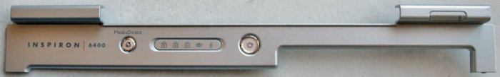 DELL INSPIRON 6400 POWER BUTTON LCD HINGE COVER HF907